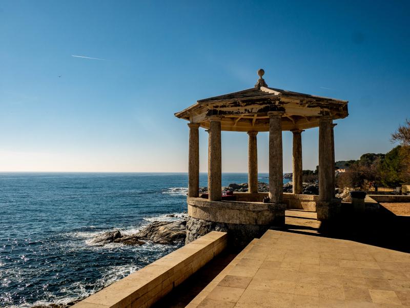 S'Agaró cami de ronda platja d aro freibeuter reisen pavillon