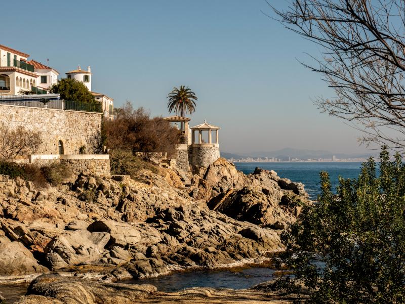 S'Agaró camí de ronda platja d aro freibeuter reisen tempel