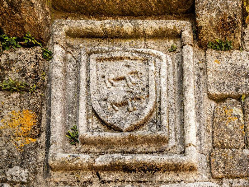 cabral Wappen Burg belmonte