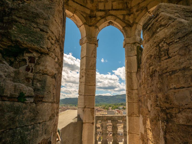 banyoles glockenturm monestir sant esteve museum