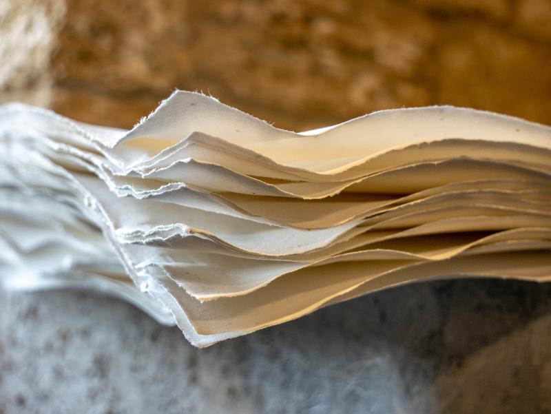 baumwollpapier banyoles moli de la farga muehle