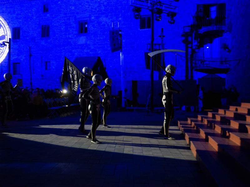 dansa de la mort verges freibeuter reisen dalla rellotge platets bandera