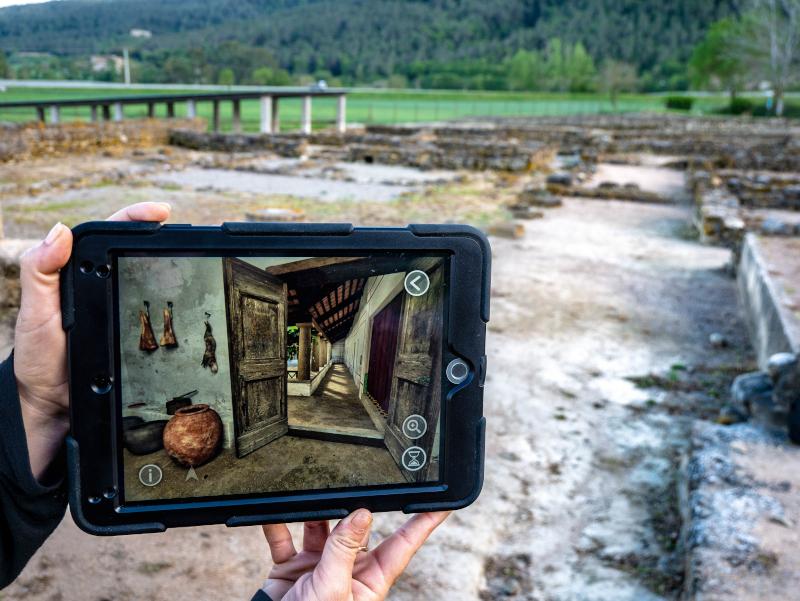tablet roemische villa pla de l estany
