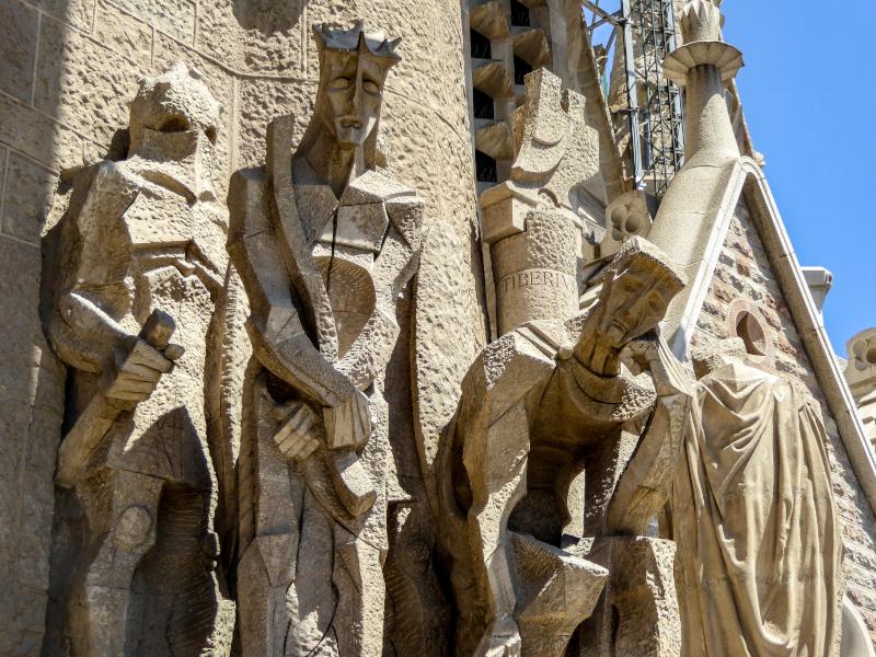 sagrada familia subirachs barcelona passion