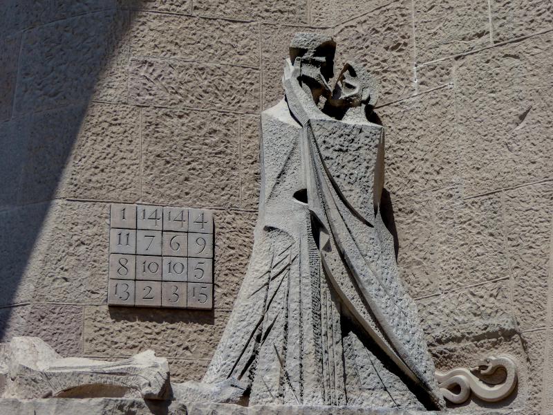 subirachs sagrada familia barcelona judaskuss