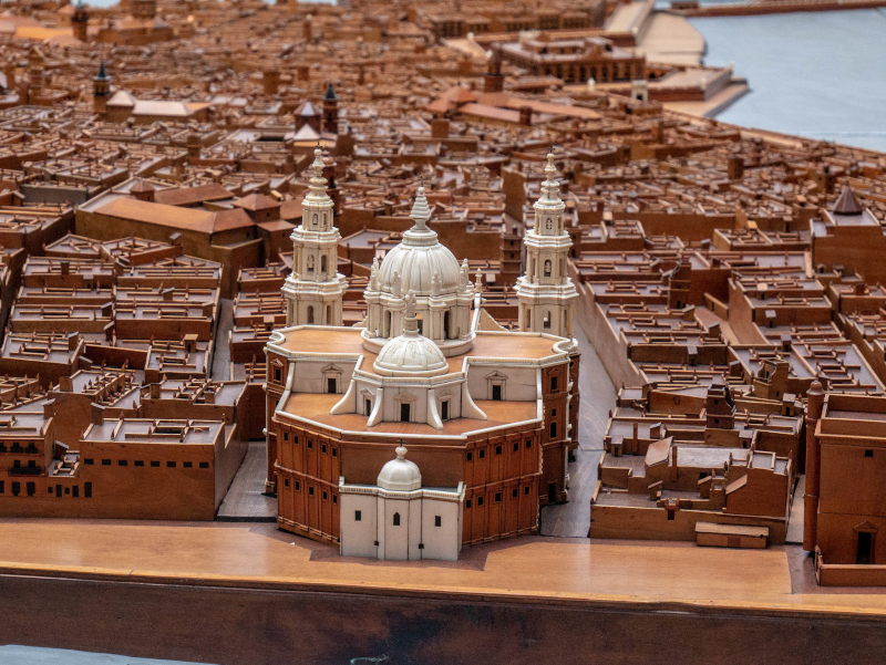 modell Altstadt Cádiz