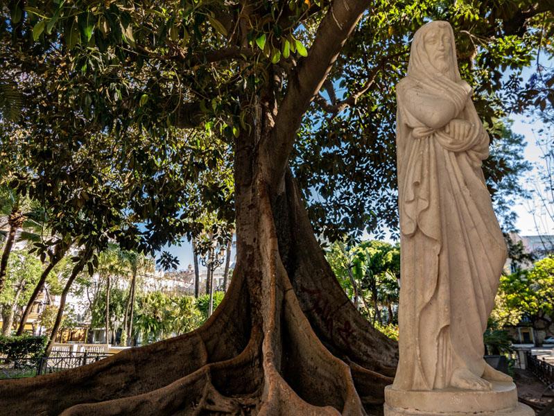 Altstadt Cádiz plaza mina
