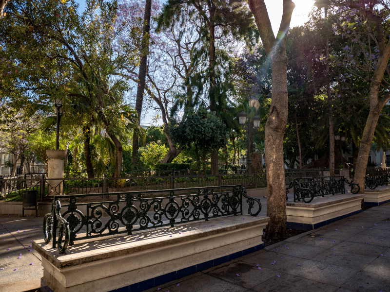plaza mina Altstadt Cádiz
