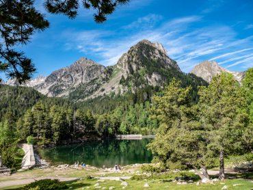estany sant maurici parc natural aigüestortes