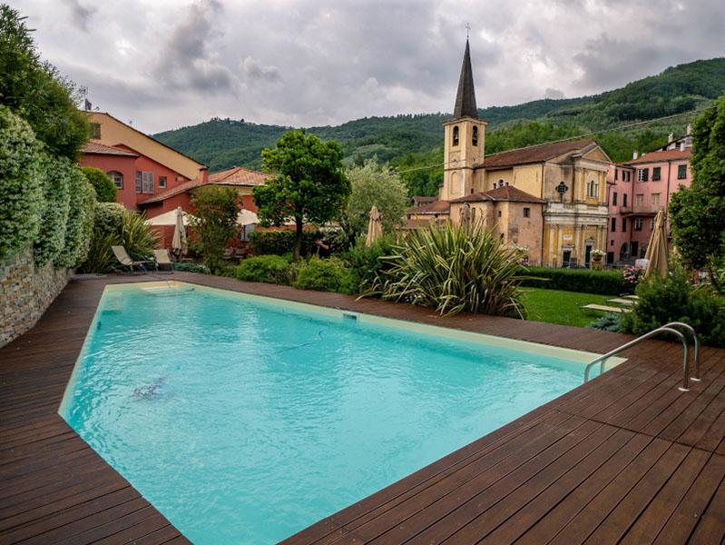 Pool relais del maro borgomaro ligurien