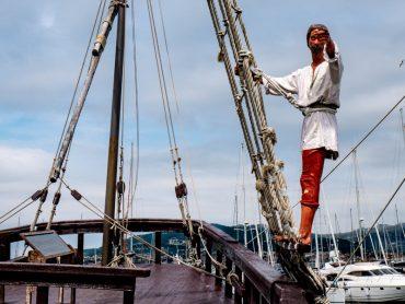 Baiona La Pinta Hafen Karavelle seefahrer martin alonso pinzon
