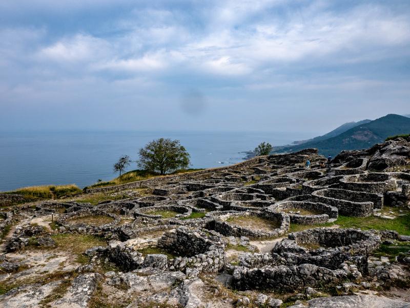 ausgrabungen monte tecla portugiesischer Jakobsweg A Guarda