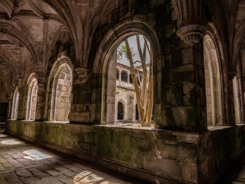 kloster oia galicien