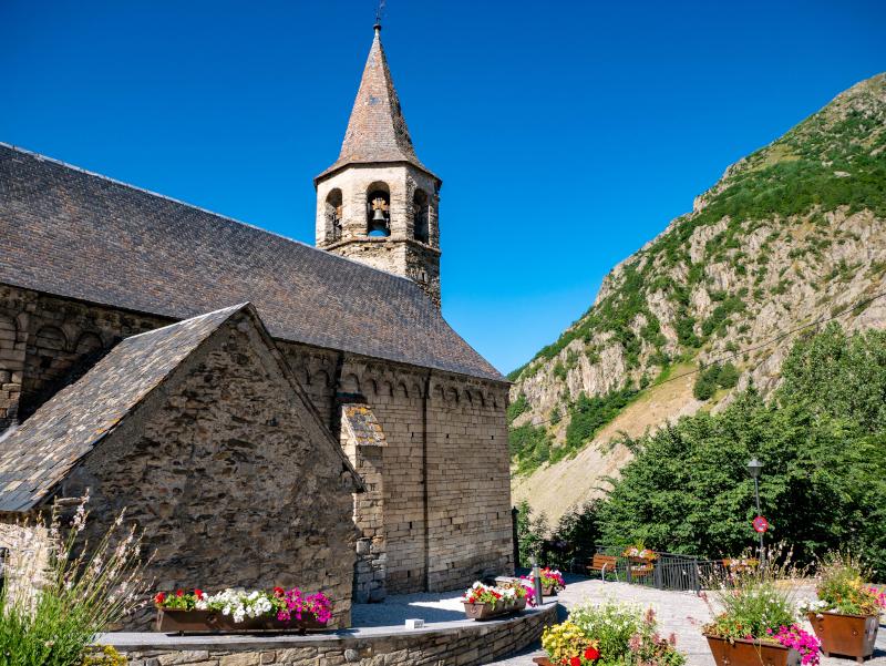 kirche bagergue vall d'aran