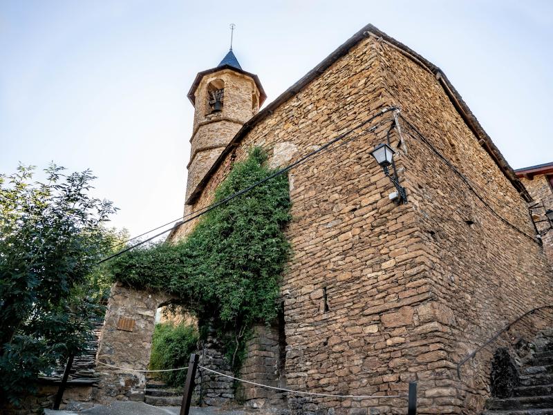 kirche in seurí Vall d'Àssua