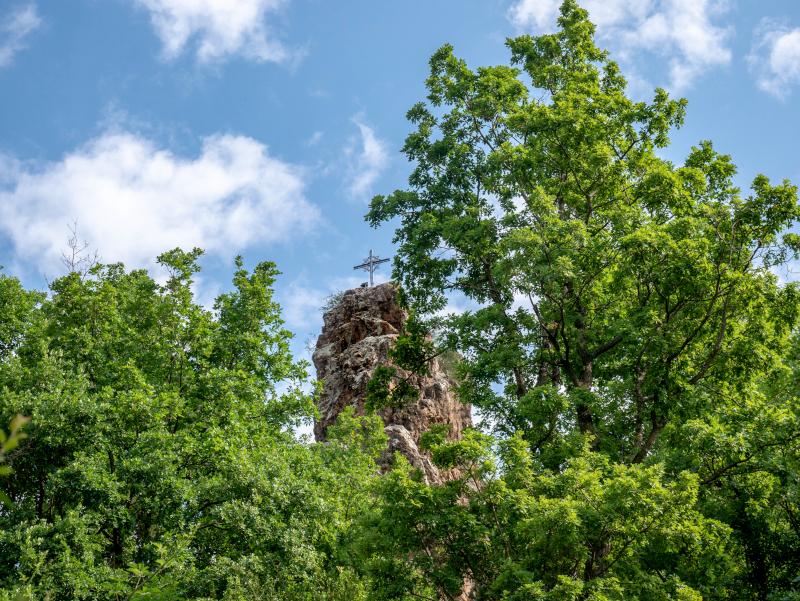 Ribes de freser klttersteig roca de la creu via ferrata