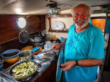 bootsausflug essen kochen