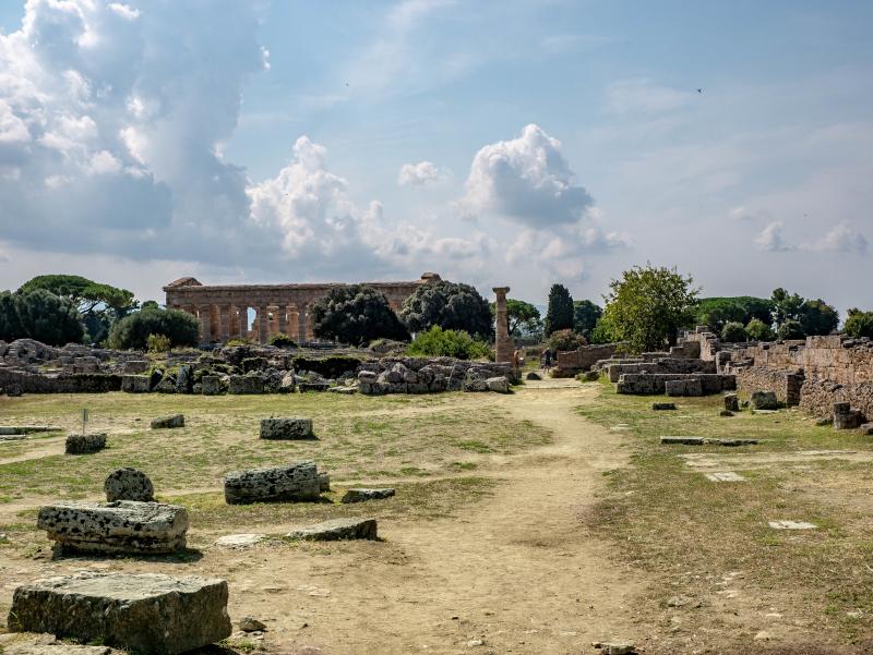 ausgrabung und museum paestum poseidonia