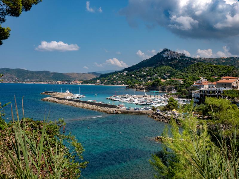 blick auf san marco punta licosa Nationalpark Cilento