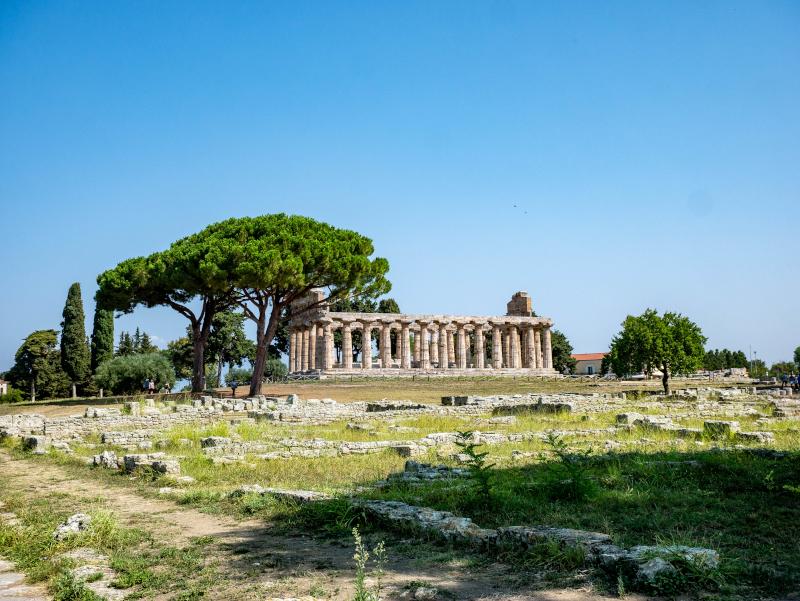 cerestempel paestum poseidonia tempel der Athene