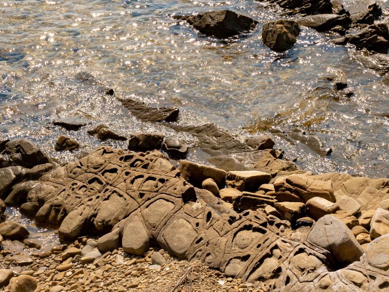 flysch punta licosa Nationalpark Cilento