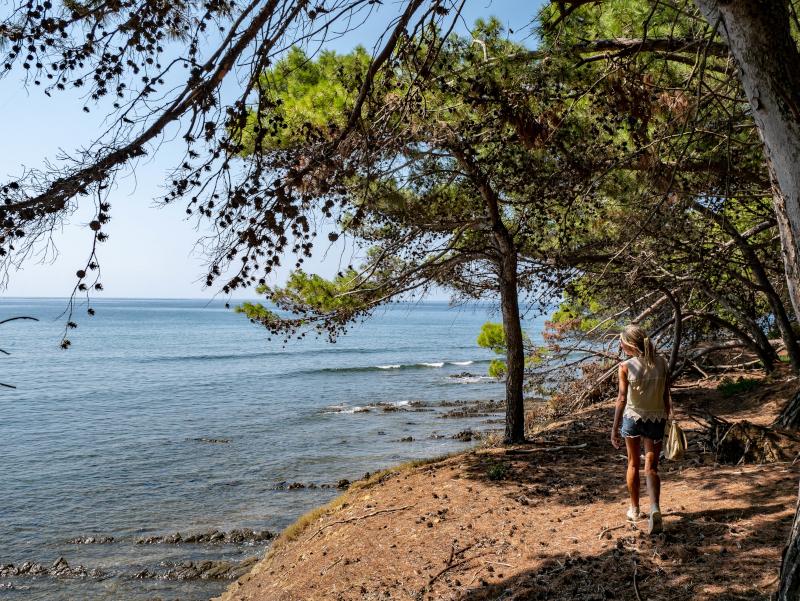 wandern punta licosa Nationalpark Cilento