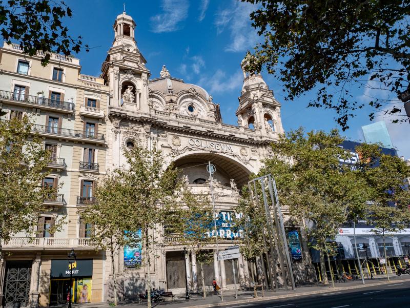 coliseum guerra civil spanischer buergerkrieg barcelona