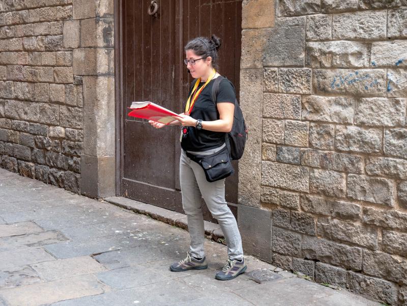 spanischer buergerkrieg barcelona stadtspaziergang