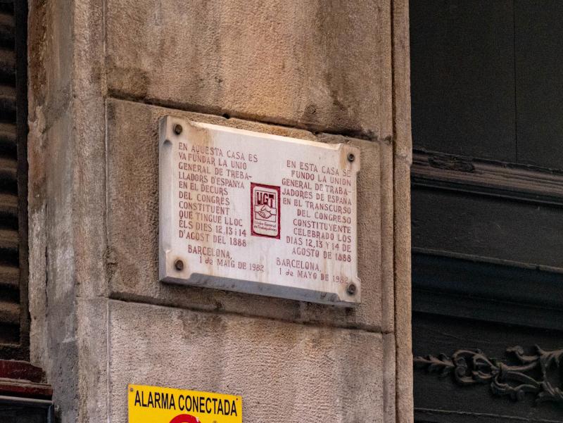 spanischer buergerkrieg barcelona ugt