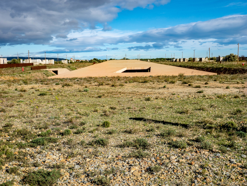 architektur rivesaltes memorial