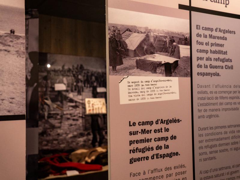 gedenkstaette la retirada Argelès sur mer lager