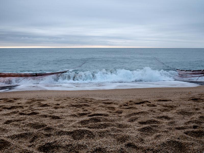 netz an land ziehen tirada a lart lloret de mar