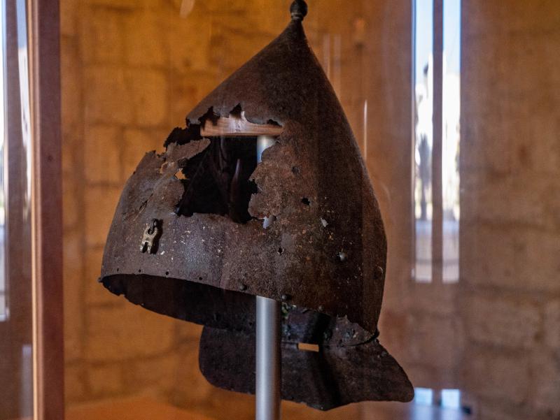 Helm osmanisch i turci museum