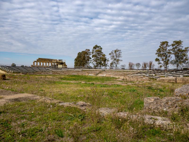 Metaponto Pythagoras archaeologische ausgrabungsstaette