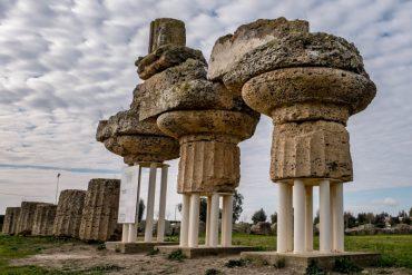 Tempel Metaponto Pythagoras archaeologisch