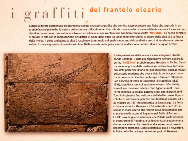 frantoio graffiti in oelmuehle muro leccese