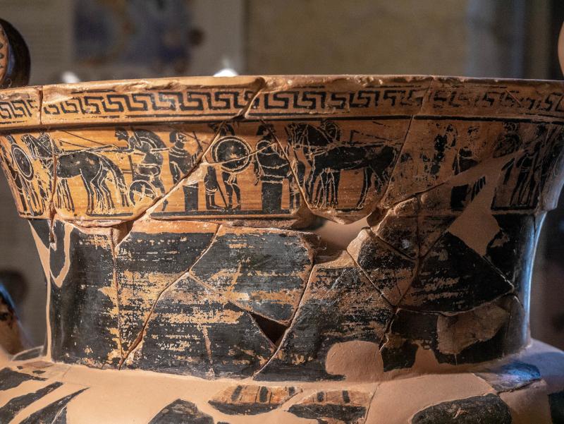 griechische vase muro leccese