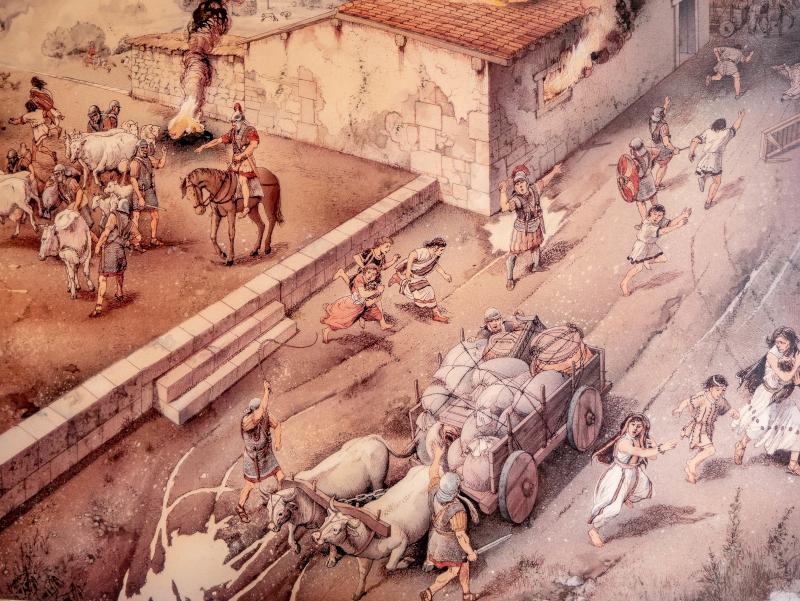 messapier roemer eroberung muro leccese