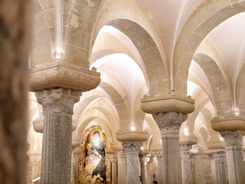 Otranto Kirche gruft