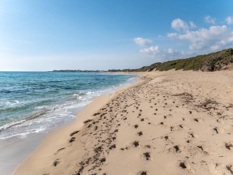 Spiagga di Punta Prosciutto straende in apulien