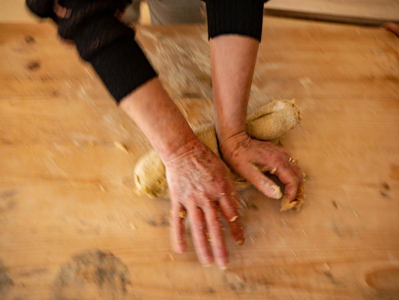 pastateig kneten italien