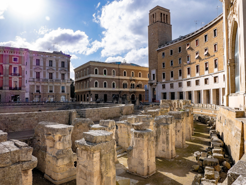 roemisches amphitheater lecce