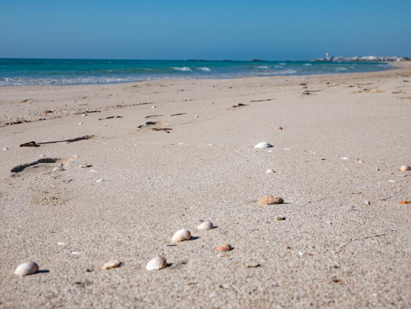 karibische straende in Apulien