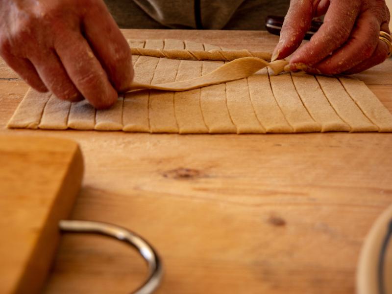 salento sagne torte SAGNE 'NCANNULATE