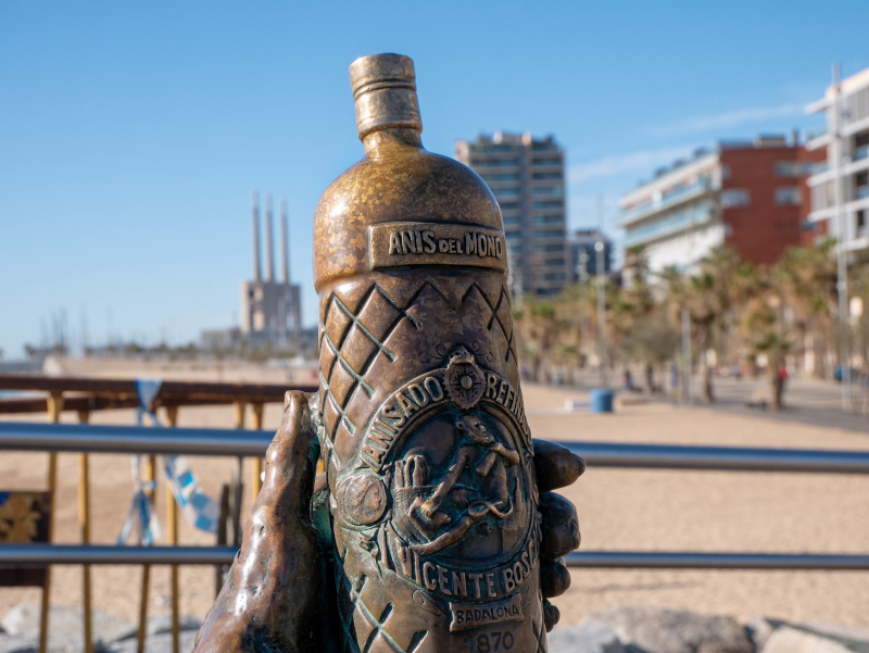 Badalona Anis del Mono Flasche