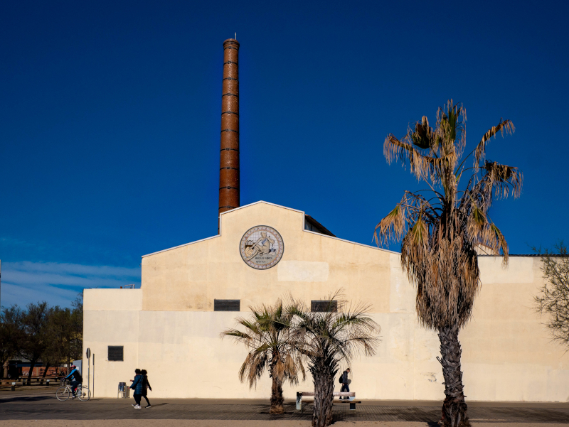 Badalona Anis del Mono fabrik