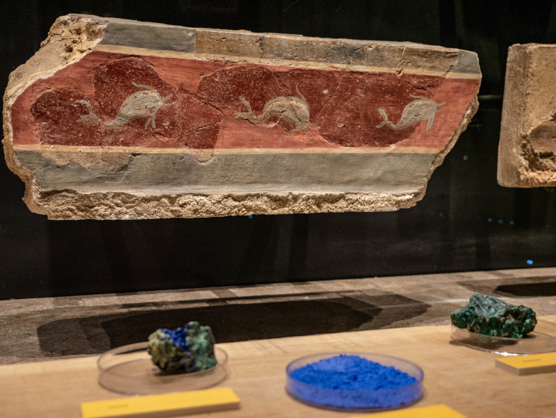 farben pigmente baetulo badalona museum