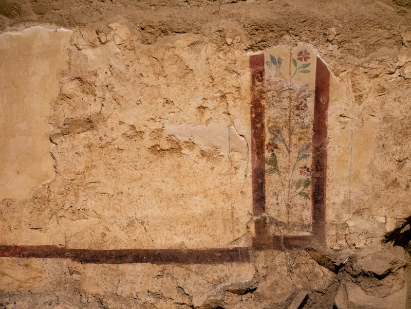 malereien reste baetulo badalona museum