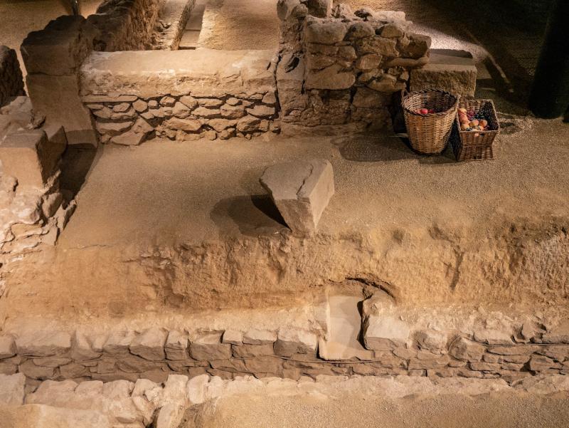 roemische strasse ausgrabungen baetulo badalona museu