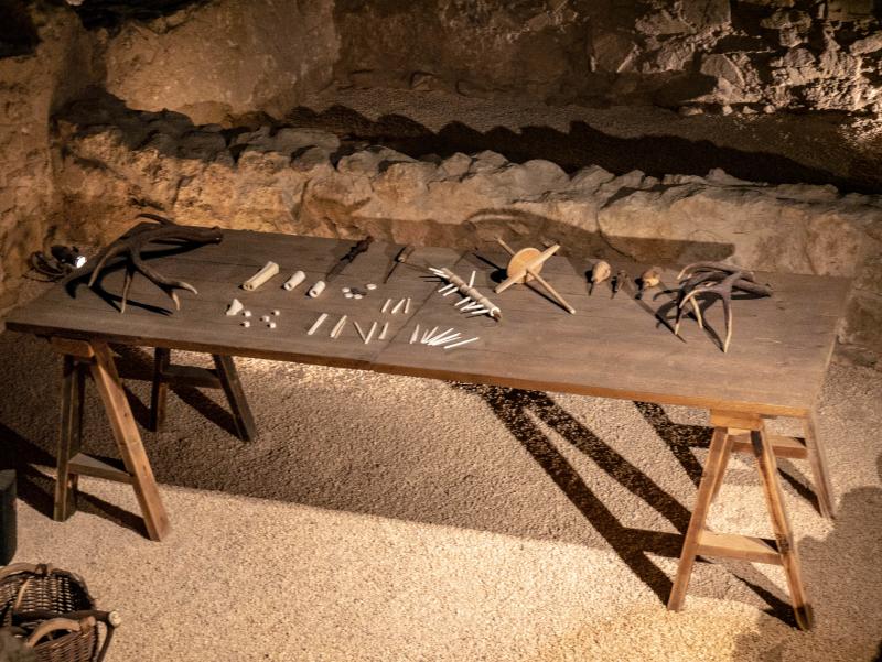 werkstatt knochen baetulo badalona museum
